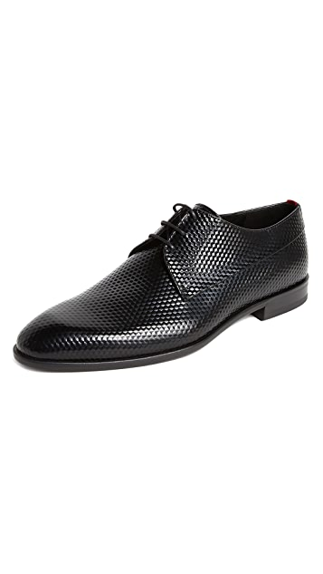 HUGO Dress Appeal Embossed Derbies