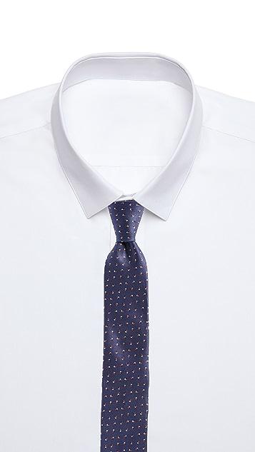 HUGO Hugo Boss Irregular Dot Print Tie
