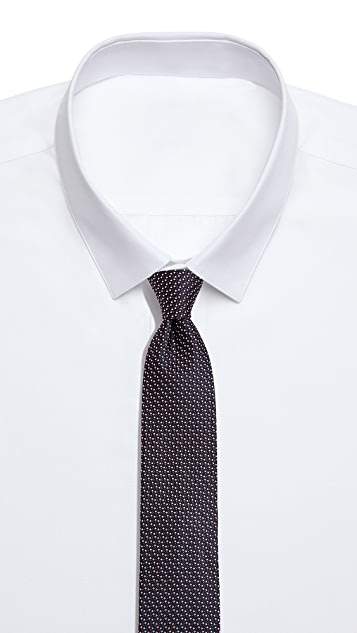 HUGO Hugo Boss Offset Dot Print Tie