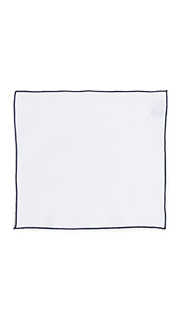 HUGO Hugo Boss Tipped Pocket Square