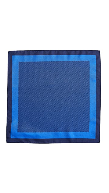 HUGO Blocked Stripe Pocket Square