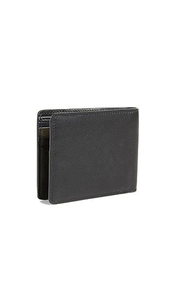 HUGO Hugo Boss Subway Billfold Leather Wallet