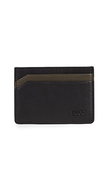 HUGO Subway Leather Card Case