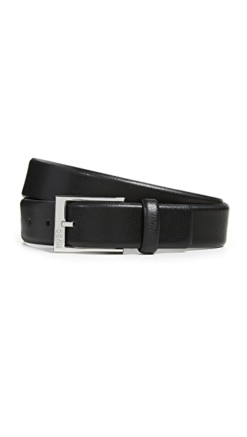 HUGO Hugo Boss Gellot Grainy Leather Belt