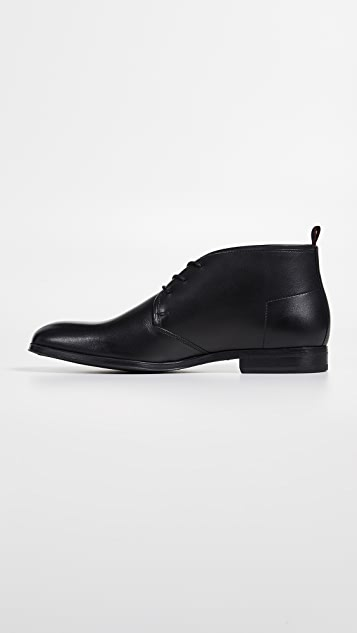 HUGO Hugo Boss Boheme Leather Desert Boots