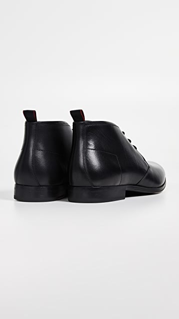 HUGO Boheme Leather Desert Boots