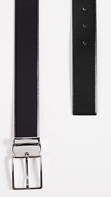 HUGO Hugo Boss Galvo Reversible Leather Belt