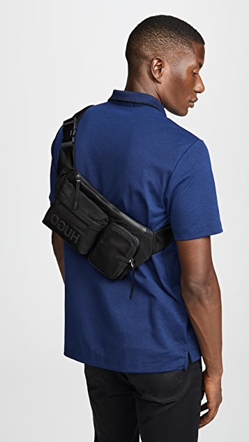HUGO Hugo Boss Record Nylon Waist Bag