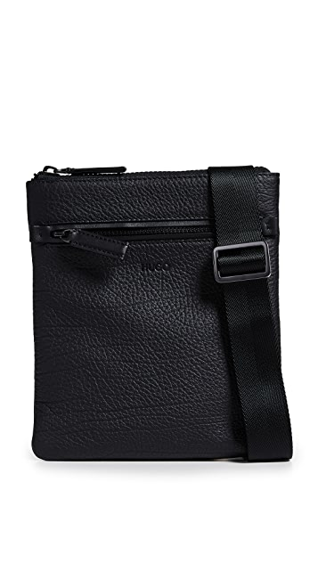 HUGO Hugo Boss Victorian Leather Crossbody Bag