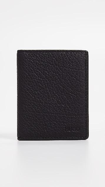 HUGO Hugo Boss Victorian Leather Folded Card Case