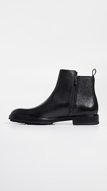 HUGO Hugo Boss Bohemian Leather Zip Boots