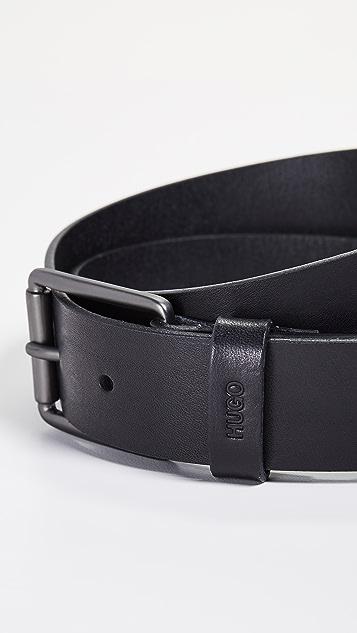 HUGO Hugo Boss Gupery Smooth Leather Belt