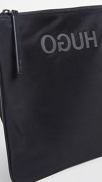 HUGO Hugo Boss Record Envelope Crossbody Bag