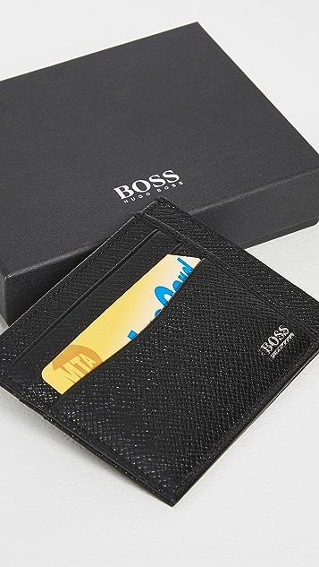 HUGO Hugo Boss Signature Card Case
