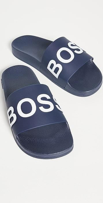 HUGO Hugo Boss Bay Slides