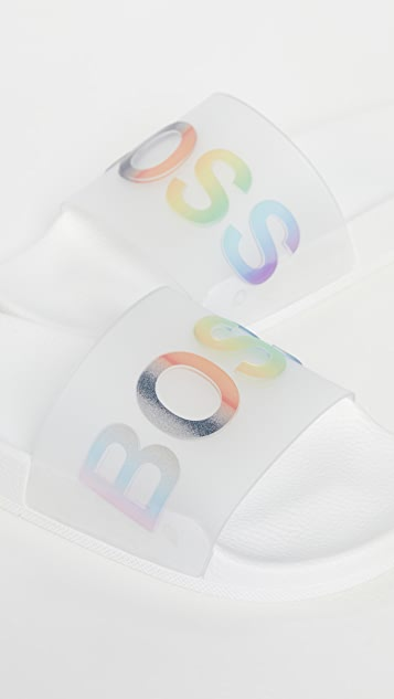 HUGO Hugo Boss Pride Bay Slides