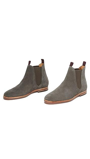 Hudson London Tamper Suede Chelsea Boots
