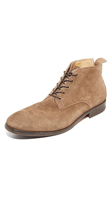 Hudson London Cooke Suede Lace Up Boots