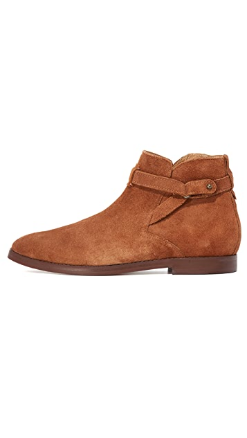 Hudson London Cutler Suede Belted Boots