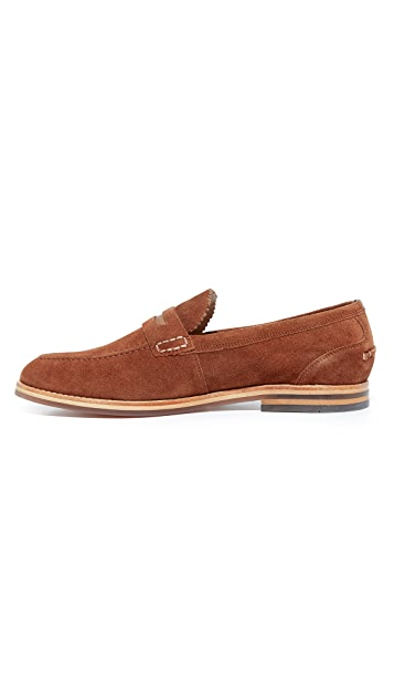 Hudson London Romney Suede Loafers
