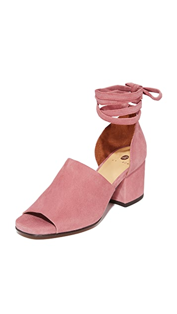 Hudson London Metta Suede City Heels