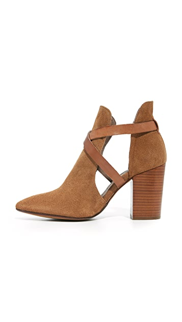 Hudson London Geneve Cut Out Booties