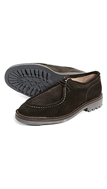 Hudson London Penn Suede Lace Up Shoes
