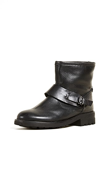 Hudson London Mac Buckle Booties