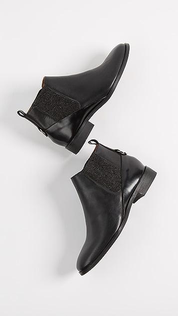 Hudson London Norman Low Chelsea Boots