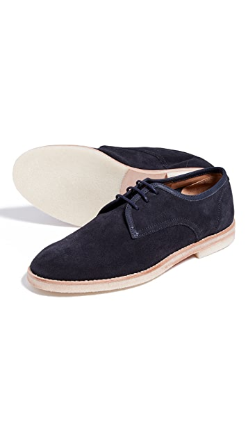 Hudson London Agadir Suede Lace Ups