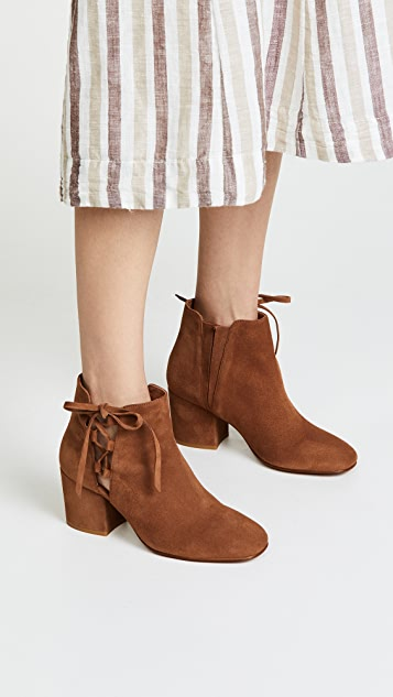 Hudson London Zataro Block Heel Ankle Boots