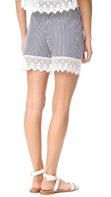 Holy Caftan Falda Bordo Shorts