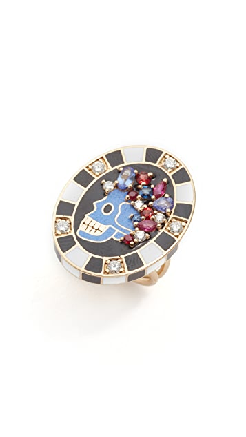 Holly Dyment Saturday Enamel Ring