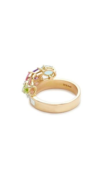Holly Dyment Go Lightly Enamel Ring