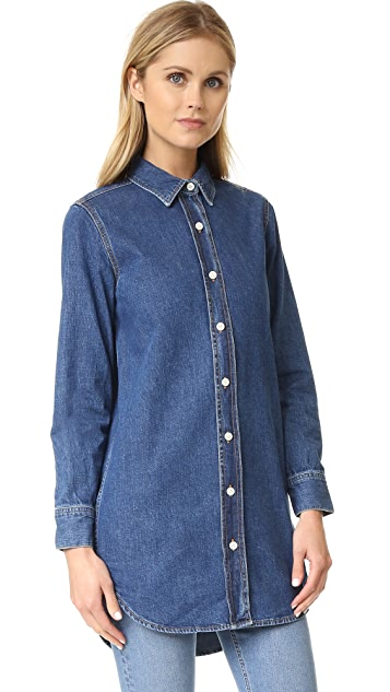 M.i.h Jeans Denim Oversized Shirt