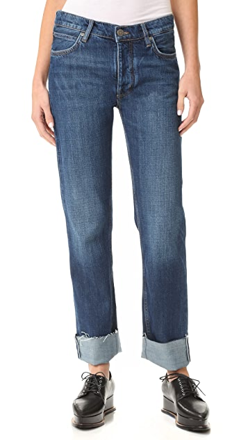 M.i.h Jeans Phoebe Cuffed Jeans