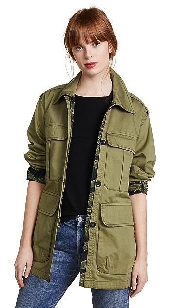 M.i.h Jeans Lang Reversible Jacket