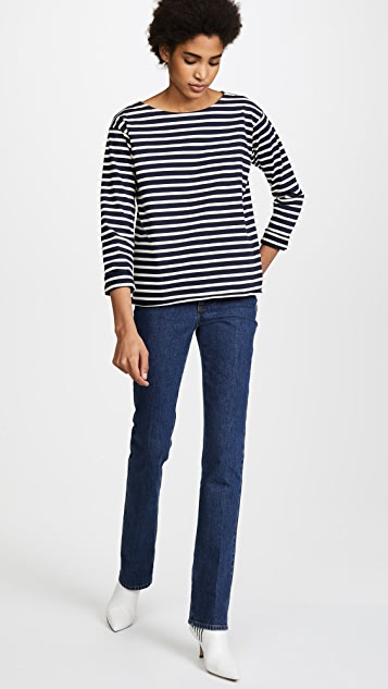 M.i.h Jeans Simple Mariniere Top
