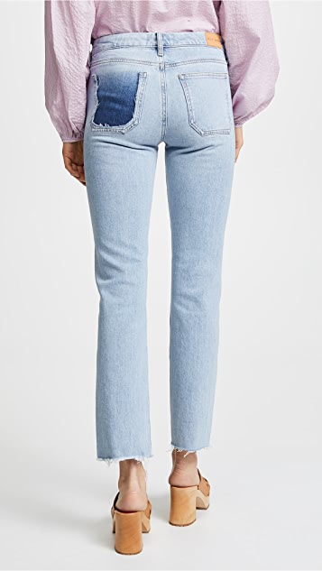 M.i.h Jeans The Daily High Rise Straight Jeans