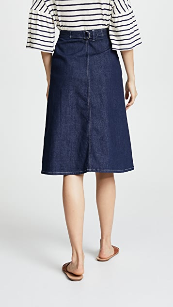 M.i.h Jeans Calicot Denim Skirt