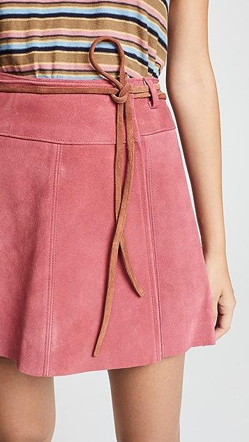 M.i.h Jeans Rosemoor Suede Skirt