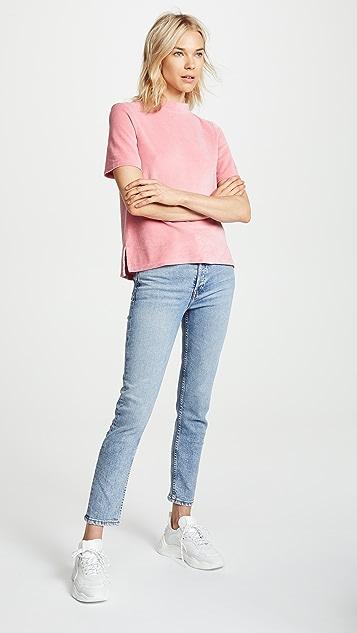 M.i.h Jeans Penny Velvet Top