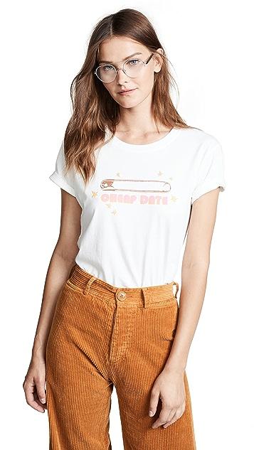 M.i.h Jeans Bay Garnett Cheap Date Tee
