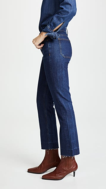 M.i.h Jeans The Daily Crop High Rise Straight Jeans