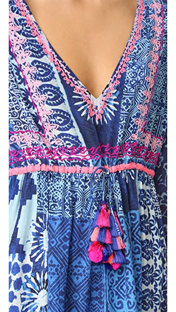 Hemant and Nandita Inked Short Dress