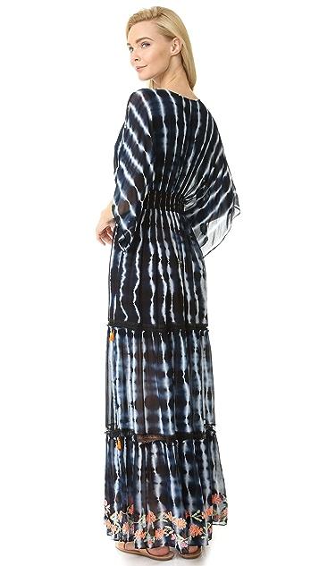 Hemant and Nandita Dip & Dive Long Dress