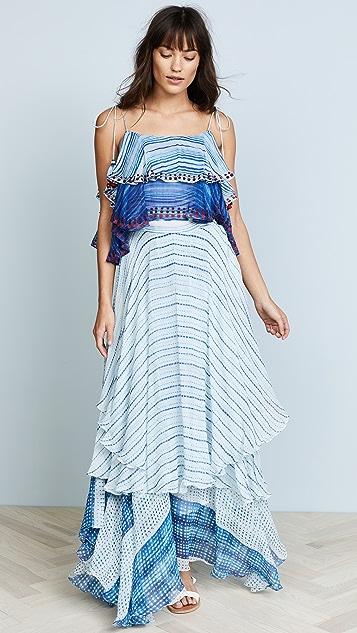 Hemant and Nandita Frontier Dress - Blue