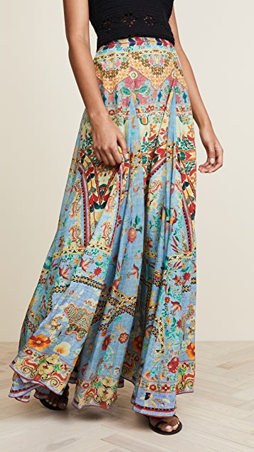 Hemant and Nandita Clara Long Skirt
