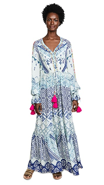 Hemant and Nandita Lucian Long Dress