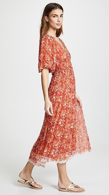 Dawn Midi Dress by Hemant And Nandita